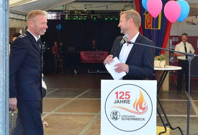 125-Jahre Feuerwehr Schermbeck