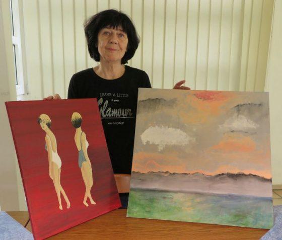 Mittwochsmaler - Künstler suchen das Feedback der Besucher