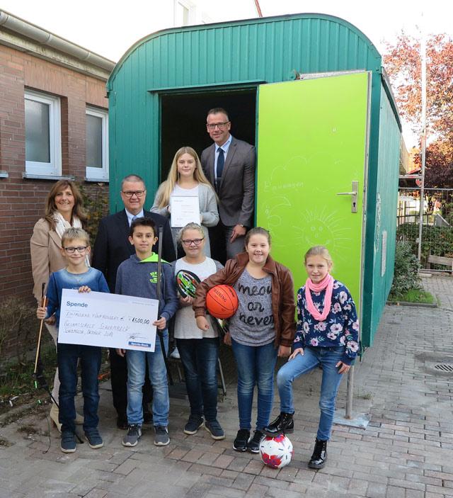 Schermbecker Gesamtschule sammelte beim Sparda-Wettbewerb