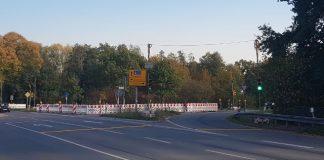Ampebaumaßnahmen Straßen NRW Kreuzungsbereich Hünxer Strasse Gahlen Schermbeck