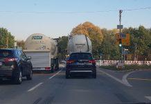 Ampelbaumaßnahmen Straßen NRW Kreuzungsbereich Hünxer Strasse Gahlen Schermbeck (