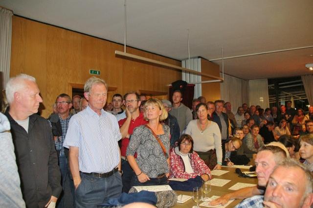 Bürgerversammlung zum erstes ausgewiesenes Wolfsgebiet Kreis Wesel und Schermbeck