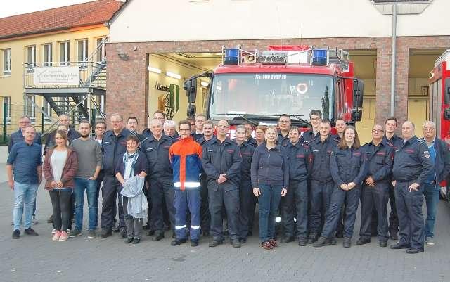 Feuerwehr in Altschermbeck.