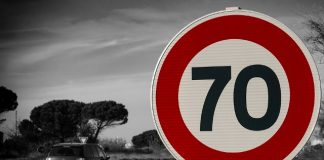 Geschwindigkeitsbegrenzung B58