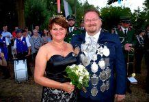 Christian Hötting König und Königin auf Vogelrute