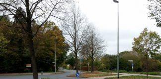 Kreuzungsbereich Schermbeck Maassenstraße