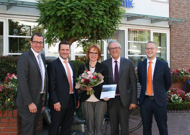 Dorothea Sander seit 25 Jahren bei der Volksbank