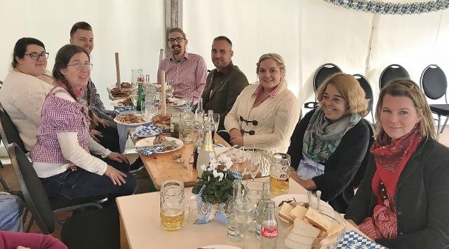 Haus Kilian Schermbeck feiert Oktoberfest 2018