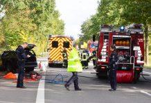 Unfall mit Todesfolge b 58 Schermbeck-Bricht