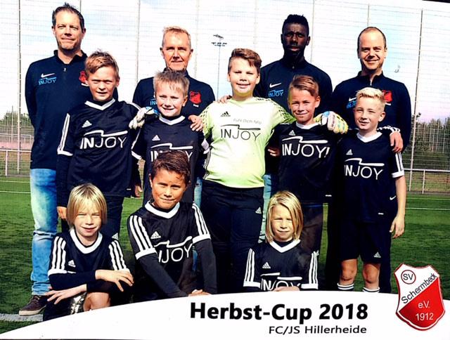 Turniersieg für U 11-Fußballer des SV Schermbeck