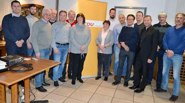 Ulrich Stiemer bleibt Vorsitzender der CDU Schermbeck