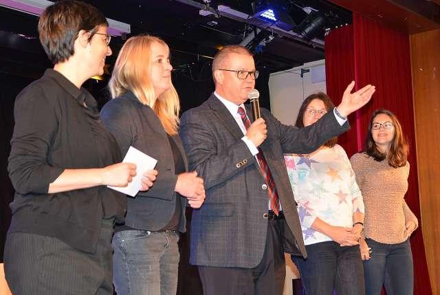 Hackedicht Präventionsprogramm Gesamtschule Schermbeck mit Eisi Gulp
