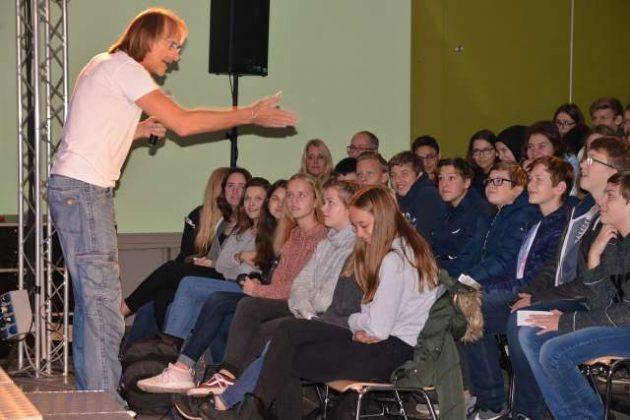Hackedicht Präventionsprogramm Gesamtschule Schermbeck