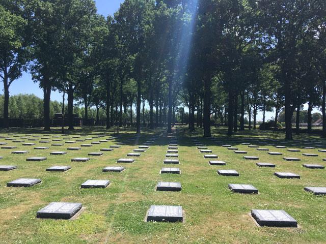Gesamtschüler gedenken der Toten des Ersten Weltkrieges