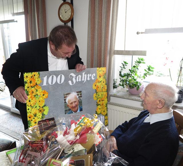Schermbecker wird 100 Jahre alt (