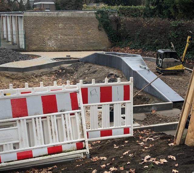 Umbau Raiffeisenweg Schermbeck