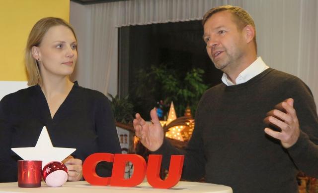 Bürgersprechstunde mit Mike Rexforth und Charlotte Quik