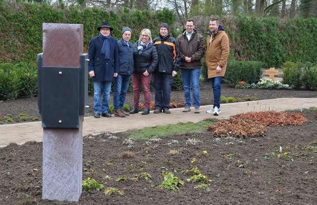 Memoriam-Garten evangelischer Friedhof Schermbeck