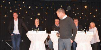 Podiumsdiskussion Gesamtschule Schermbeck mit Rexforth