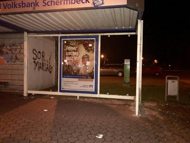 Vandalismus Schermbeck