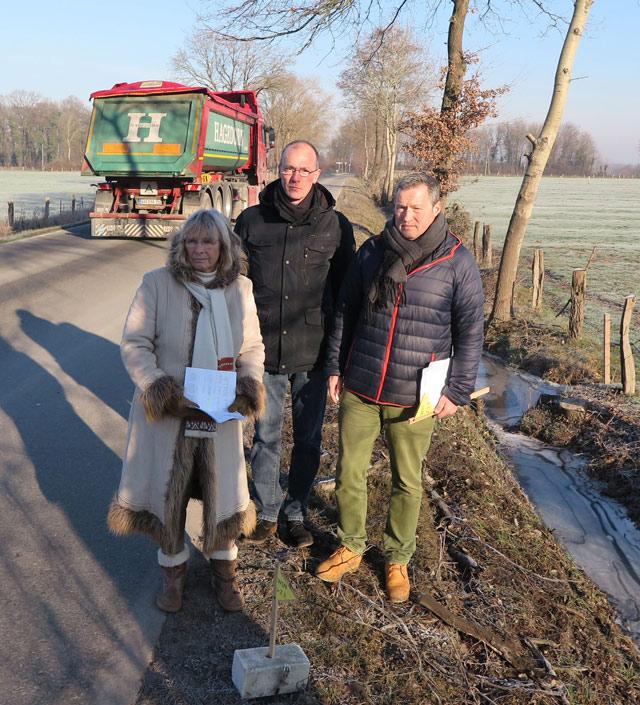 Ulrike Trick, Dr. Stefan Steinkühler und Matthias Rittmann
