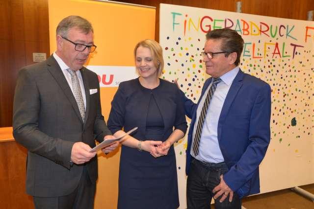 CDU Empfang Schermbeck mit Ulrich Stiemer , Charlotte Quik und Klaus Schetter