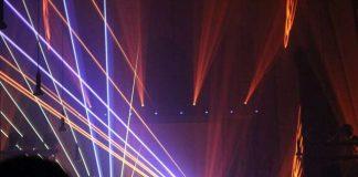 Lasershow St. Ludgerus-Kirche