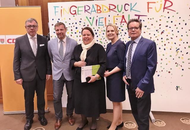 NRW Ministerin ursala heinen Esser in Schermbeck CDU