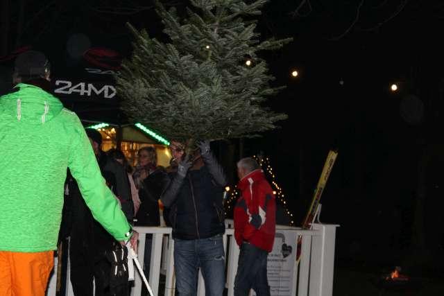 Tannenbaumweitwurf Kilian Schützengilde Schermbeck