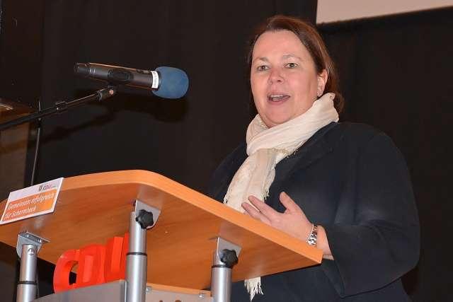 Ursula Heinen-Esser in Schermbeck CDU
