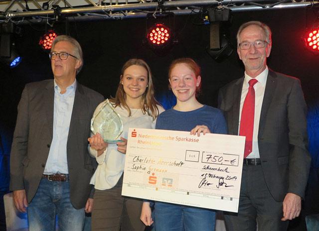 Charlotte Herrschaft und Sophie Gromann siegten