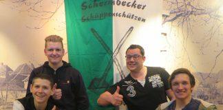 Schüppenkompanie der Schermbecker Kilianer tagte bei Overkämping