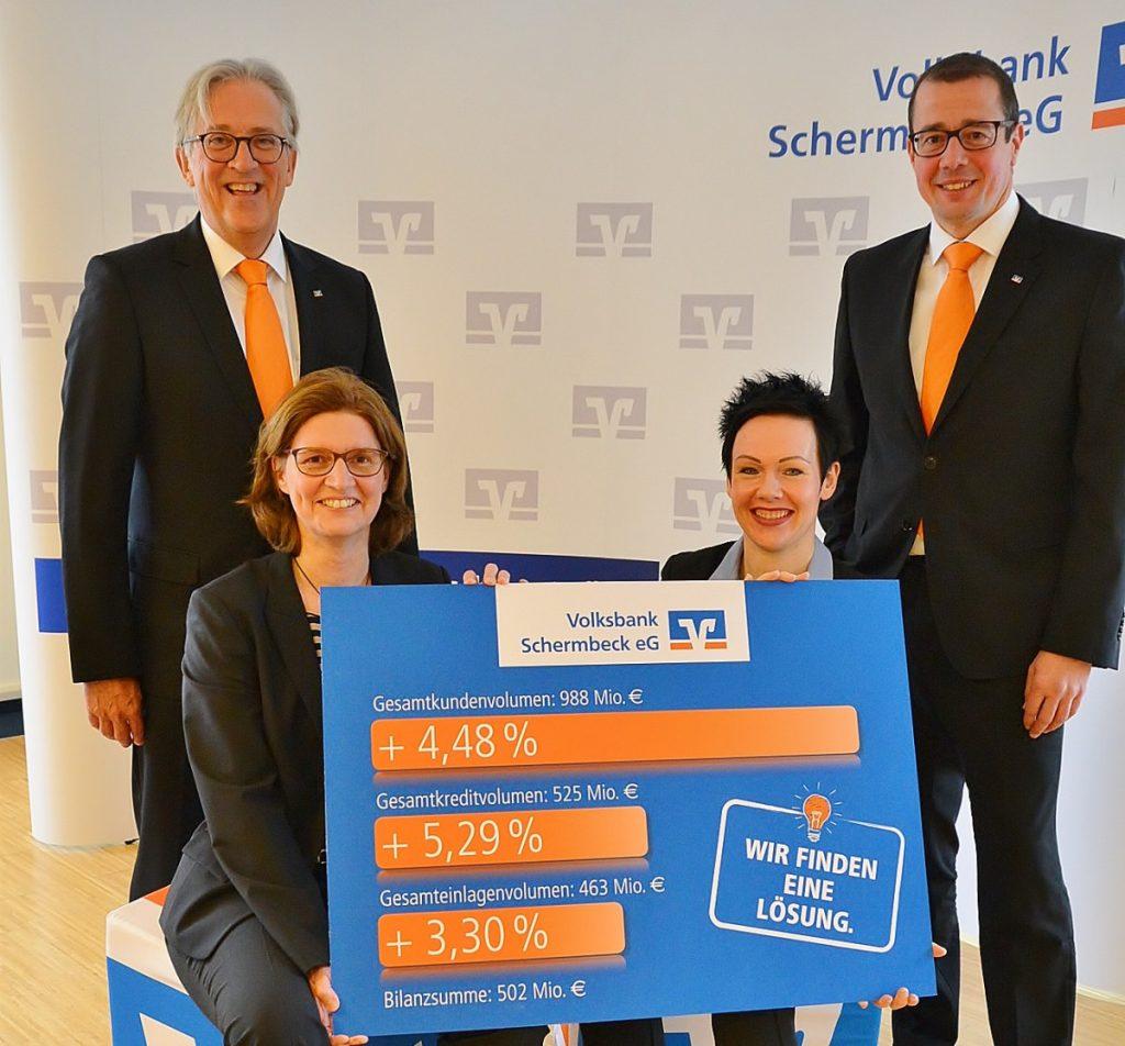 Bilanzen Volksbank Schermbeck 2018