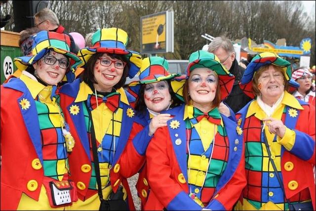 Karnevalsumzüge im kreis Wesel