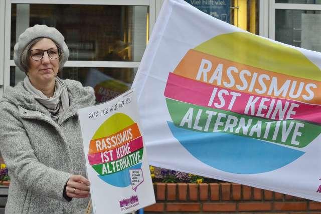 Aufstehen gegen Rassismus in Schermbeck 2019