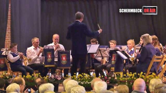 Frühlingskonzert Blaskapelle Einklang Schermbeck