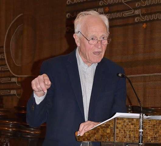 Friedhelm Hengsbach analysierte in seiner Rede der Klosterkirche Marienthal die Spaltung unserer Gesellschaft