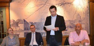 Jahreshauptversammlung CDU Schermbeck Stefan Berger, Mark Lindemann, Charlotte Quik, Ulli Stiemer