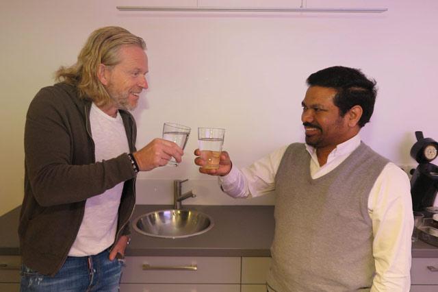 Stephan Stender spendet 35 000 Euro für ein Projekt in Indien