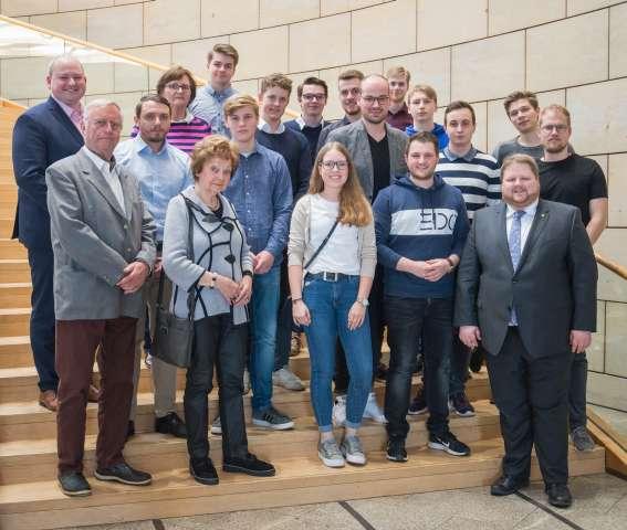 Besuchergruppe Junge Union KV Wesel