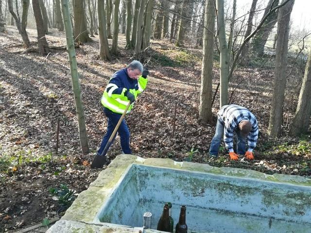 Sanierung Wassertretbecken Gahlen