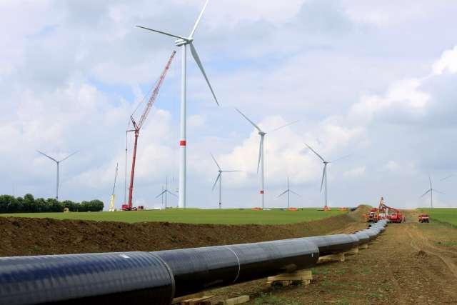 Zeeling Gasleitung von Open Grid Dämmerwald