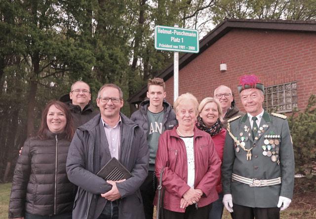 Krudenburg hat einen Helmut-Puschmann-Platz