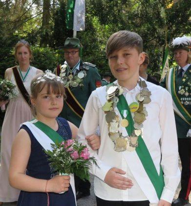 Drevenacker Kinderschützen-Königspaar