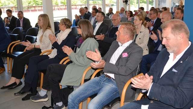 Abraham-Haus SV Schermbeck offiziell eröffnet