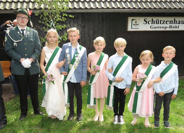Neues Gartrop-Bühler Kinderschützen-Königspaar