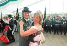 Dammer Schützen zu Gast in Weselerwald