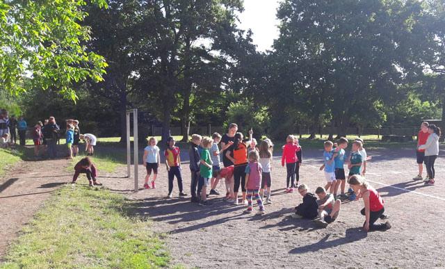 Sportfest an der Gemeinschaftsgrundschule
