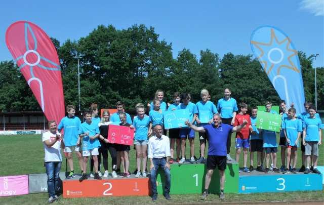 Staffellauf Gesamtschule Schermbeck