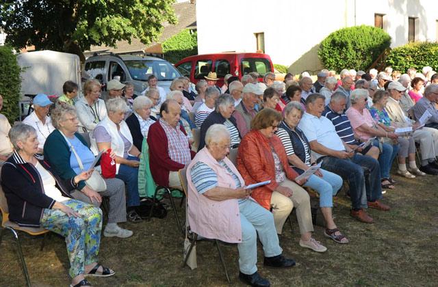 Offenes  Singen Männergesangvereins Gahlen-Dorf